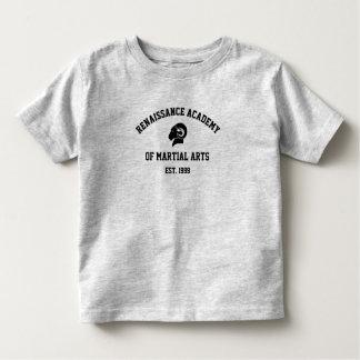 T-shirt gris de RAM des enfants en bas âge rétro