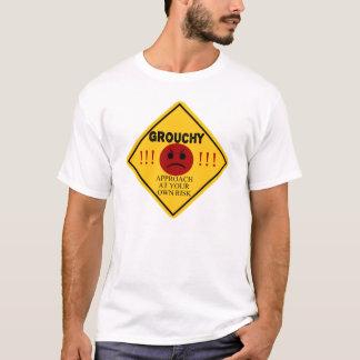 T-shirt Grognon. Approche à vos risques et périls