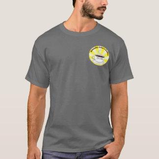 T-shirt grognon de logo de rayon de soleil de