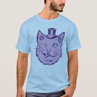 T-shirt Gros chat