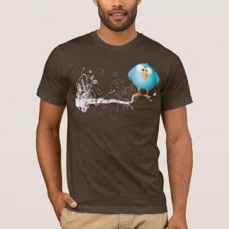 T-shirt gros oiseau bleu