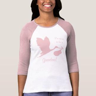 T-shirt Grossesse Annoucement pour la grand-maman