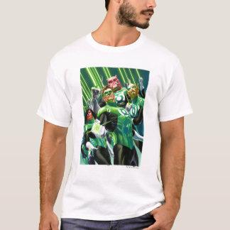 T-shirt Groupe de lanternes vertes