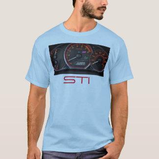 T-shirt Groupe de mesure de chemise de STI d'Impreza