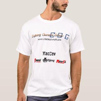T-shirt Groupe de propriétaires de cyborg