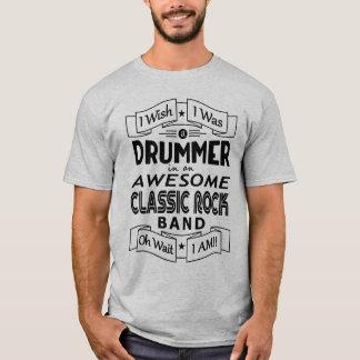 T-shirt Groupe de rock classique impressionnant de BATTEUR