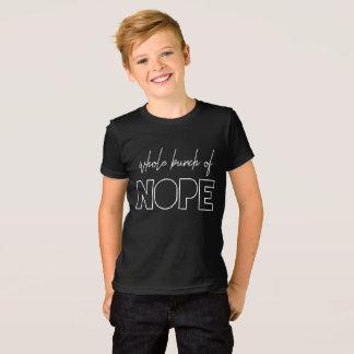 T-shirt Groupe entier de Nope