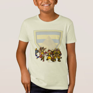 T-Shirt Groupe perdu de désert d'équipe