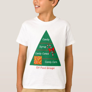 T-shirt Groupes d'aliments d'Elf