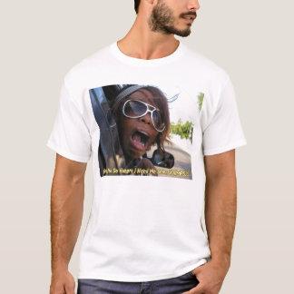 T-shirt Grrrrllll… I a besoin de moi des crevettes !