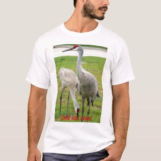 T-shirt Grue de colline de sable