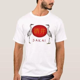 T-shirt Grue de monogramme de Sakai