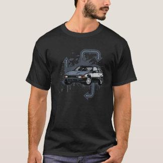 T-shirt Grunge de deux tons