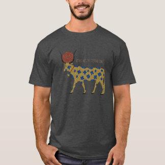 T-shirt Grunge de Kemetic : Hethert-Écrou, la vache