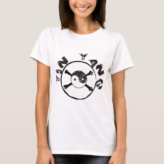 T-shirt grunge de Yin Yang