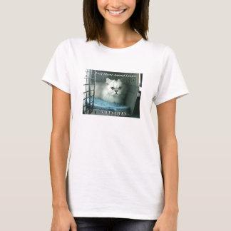 T-shirt GSAL SAUVE la pièce en t de BabyDoll de dames des