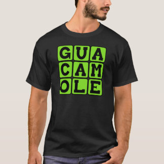 T-shirt Guacamole, immersion d'avocat