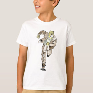 T-shirt guépard illustration