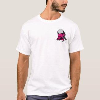 T-shirt Guerre civile d'Américain de lycée de rivage de