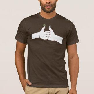 T-shirt Guerre de pouce