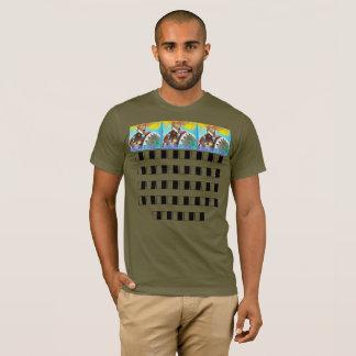 T-shirt guerrier