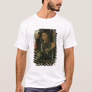 T-shirt Guerrier avec le marié (huile)