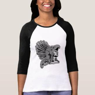 T-shirt guerrier aztèque