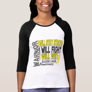 T-shirt Guerrier de cancer de la vessie