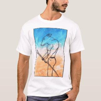 T-shirt Guerrier de chien