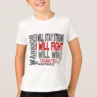 T-shirt Guerrier de diabète