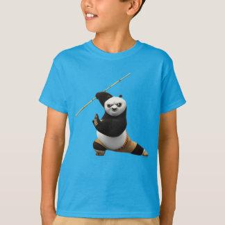 T-shirt Guerrier de dragon de cinglement de PO