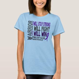 T-shirt Guerrier de fibromyalgie