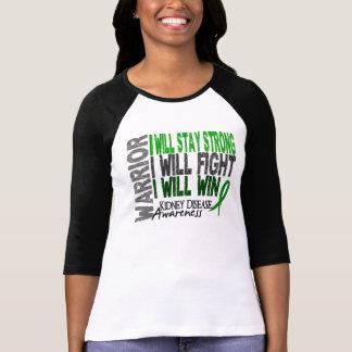 T-shirt Guerrier de maladie rénale