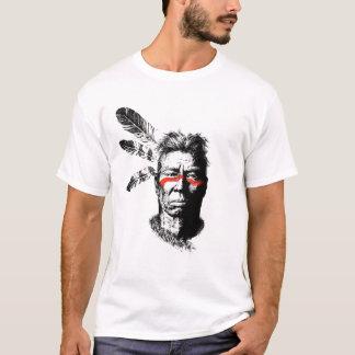 T-shirt guerrier de natif américain