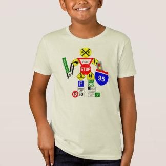 T-Shirt Guerrier de plaque de rue