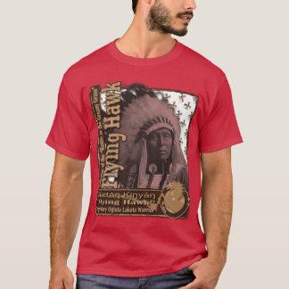 T-shirt Guerrier d'Oglala Lakota de faucon de vol
