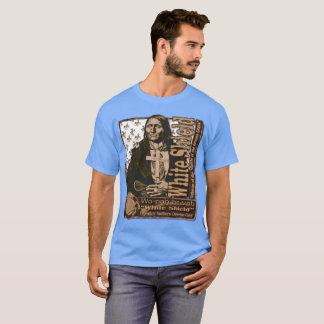 T-shirt Guerrier du nord de Cheyenne de bouclier blanc