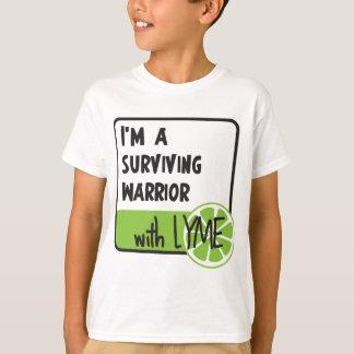 T-shirt Guerrier survivant avec LYME