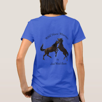T-shirt Guerriers de cheval sauvage