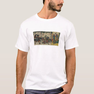 T-shirt Guerriers samouraïs circa le JAPON 1850