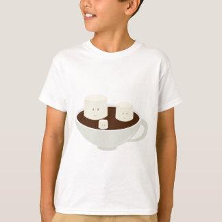 T-shirt Guimauves en chocolat chaud
