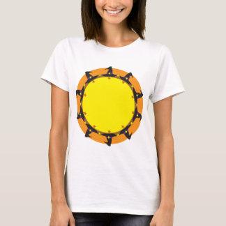 T-shirt Guirlande de casquette de sorcière