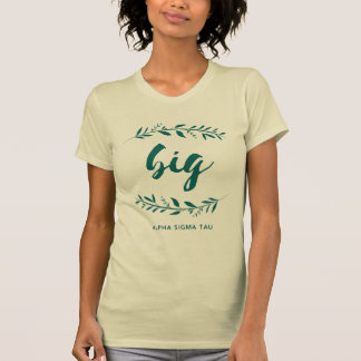 T-shirt Guirlande de Tau d'alpha sigma grande