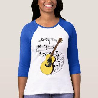 T-shirt Guitare