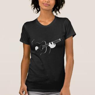 T-shirt guitare acoustique