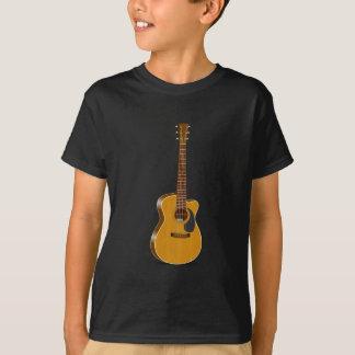 T-shirt Guitare acoustique coupée