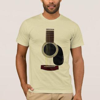T-shirt guitare acoustique T