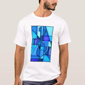 T-shirt Guitare bleue