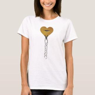 T-shirt Guitare de coeur