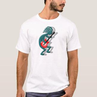 T-shirt Guitare de Kokopelli
